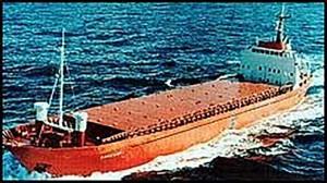 Nordfrakt som ble rent i senk utenfor kysten av Lisboa i mai 2000. Hele mannskapet på fem omkom i ulykken.